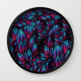 Pokey Pattern Wall Clock