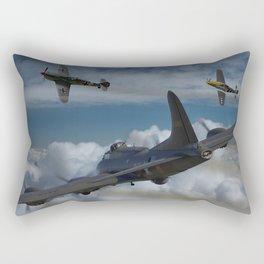 B17 and Fighter escort Rectangular Pillow