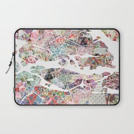 Stockholm map Laptop Sleeve