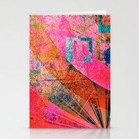 grunge Stationery Cards featuring Grunge by Fine2art