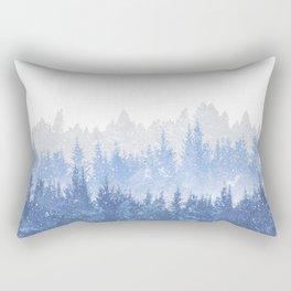 Study in Solitude Rectangular Pillow