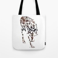hunter x hunter Tote Bags featuring Hunter by Stevyn Llewellyn