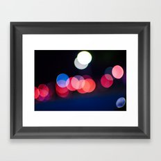bokeh 1 Framed Art Print