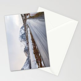 The road in the mountains Stationery Cards