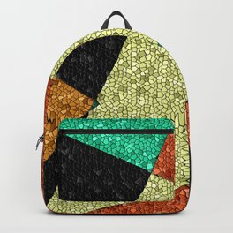 Southwestern Abstract, Mosaic, Geometric Backpack