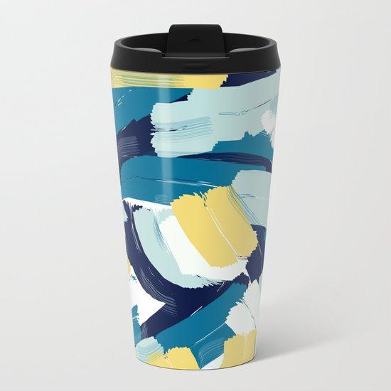 Abstract painting 111 Metal Travel Mug