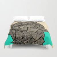 disco Duvet Covers featuring - sleeping disco - by Magdalla Del Fresto