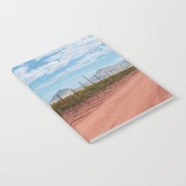 Red Dirt Vineyard View Notebook