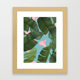 Wild Flower #society6 #decor #buyart Framed Art Print