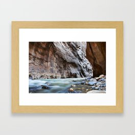 The Narrows Framed Art Print