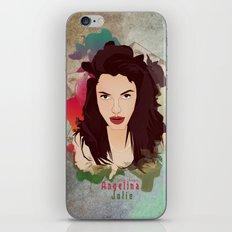 Aneglia Jolie iPhone & iPod Skin
