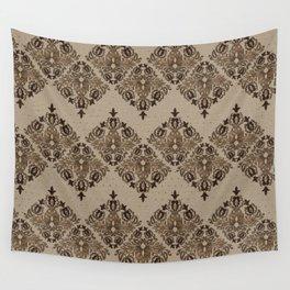 Persian Oriental pattern pastel gold Wall Tapestry