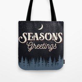 Seasons Greetings - Silent Night Tote Bag