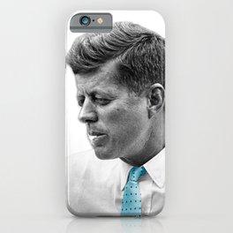 John F Kennedy Smoking iPhone Case