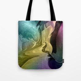 Liquid Abstract Tote Bag
