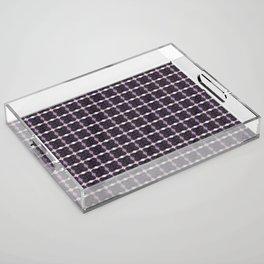 Amethyst Acrylic Tray