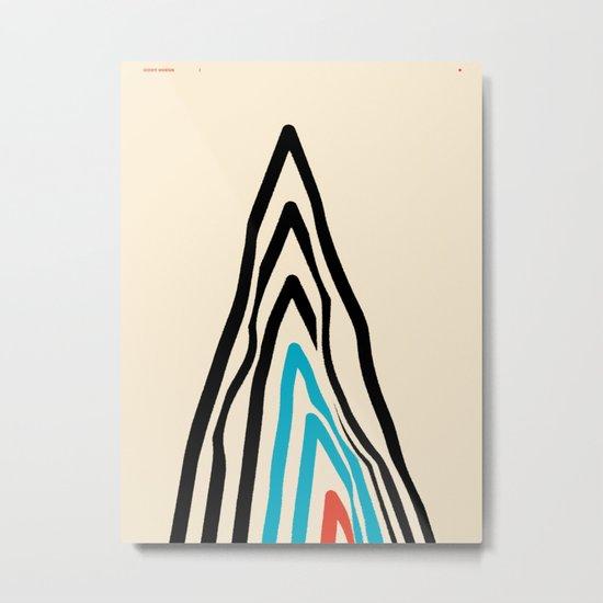 GOODBYE MOUNTAIN 2 — Matthew Korbel-Bowers Metal Print