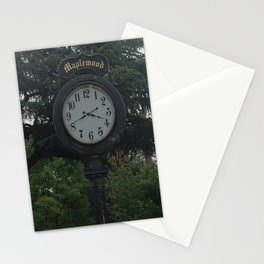 Maplewood - Clock Stationery Cards