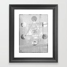7°mono^Up Framed Art Print