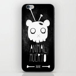 Animal Muerto iPhone Skin