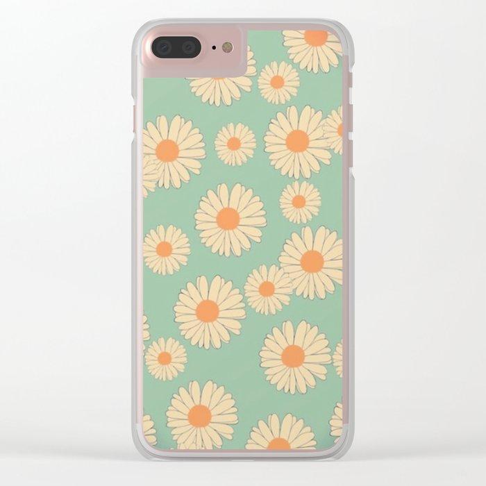 marguerite-105 Clear iPhone Case