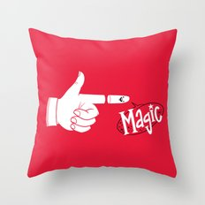 The Trick Throw Pillow