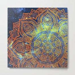 Space mandala 20 Metal Print
