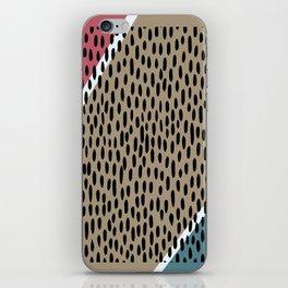 Raining pattern iPhone Skin