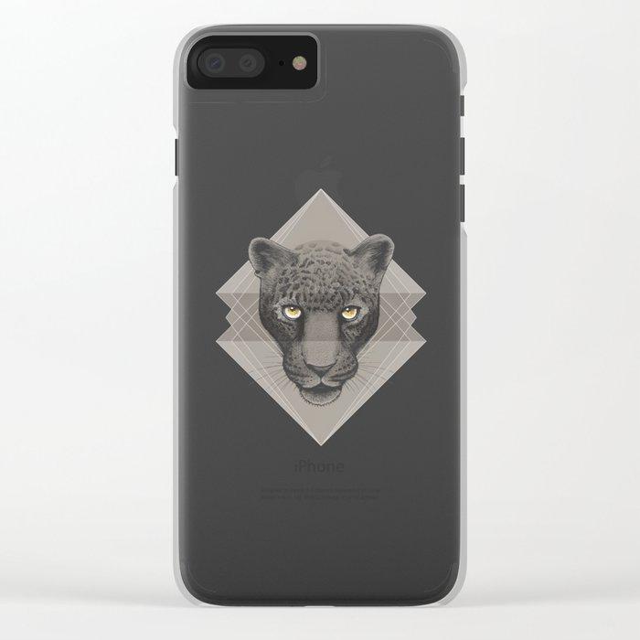 Eternal Leopard Clear iPhone Case