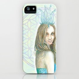 Her Invisible Crown iPhone Case