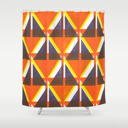 Happy little accident Shower Curtain