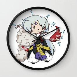 Chibi Sesshomaru Wall Clock