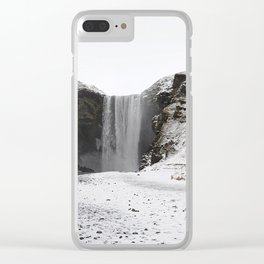 Waterfall  # Clear iPhone Case