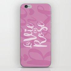 La vie en rose (pink mood) iPhone & iPod Skin