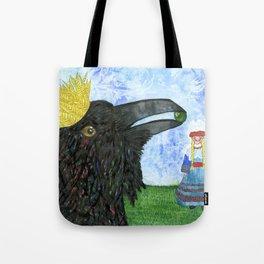 Crow King's Bride Tote Bag