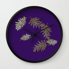 spring wheat Wall Clock