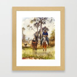 The Stockman Framed Art Print