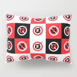 F-Bombs Prohibited, No F-bombs by Dennis Weber of ShreddyStudio Pillow Sham