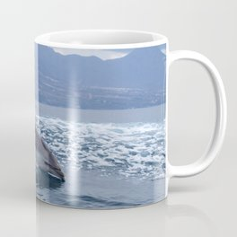 Wild and free bottlenose dolphin Coffee Mug