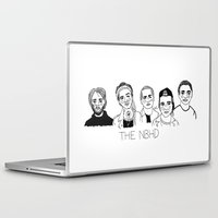 cactei Laptop & iPad Skins featuring The NBHD by ☿ cactei ☿