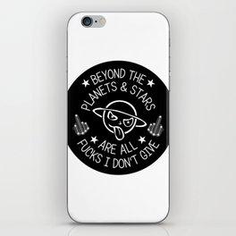 Beyond the Stars iPhone Skin