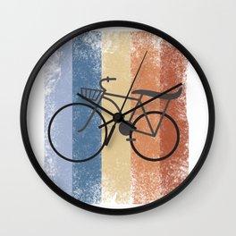 Cycling Cycling Hobby Motive Wall Clock
