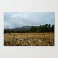 the mountains are calling Canvas Prints featuring Calling Mountains by Joshua S Carlson