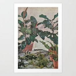 Plantlife - Safari Art Print