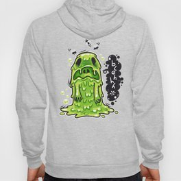 Cartoon Nausea Monster Hoody