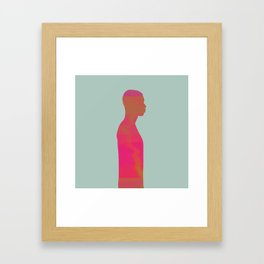 Men Framed Art Print
