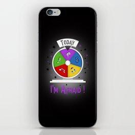 I am Afraid iPhone Skin