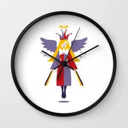 Joker - Angel Warrior Wall Clock