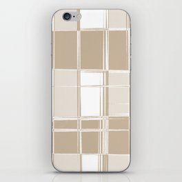 I Liked Plaid Before Plaid Was Cool (Hipster Series) iPhone Skin