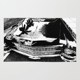 Back Cadillac Rug